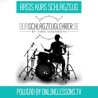 Basiskurs Schlagzeug – powered by onlinelessons.tv