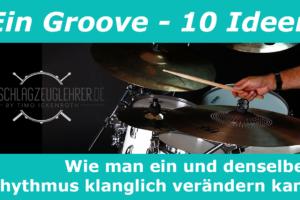 Thumbnail Livestream Vorankündigung Ein Groove, 10 Ideen