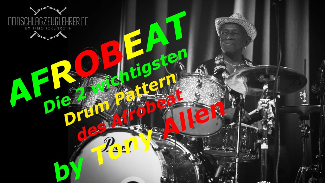 Thumbnail Afrobeat by Tony Allen – Die 2 wichtigsten Drum Pattern des Afrobeat