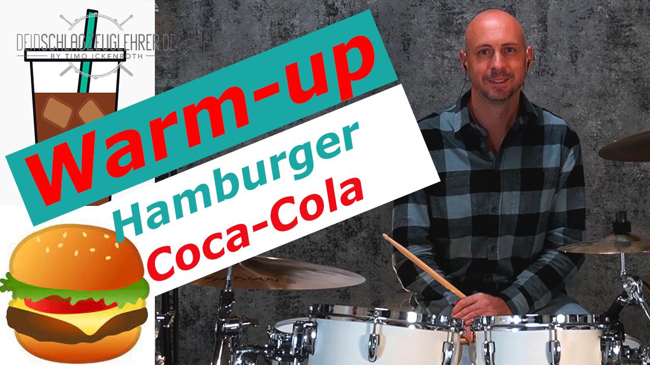 Thumbnail Warm Up Hamburger Coca Cola Part 01